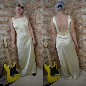 Vintage All That Jazz Evening Dress